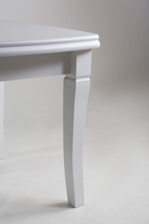 Стол Монте Карло белый ножка