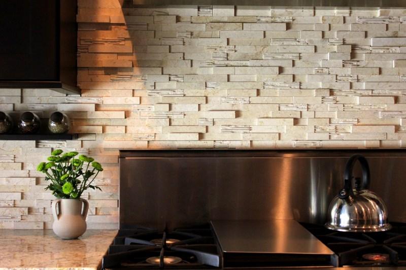 Дизайн кухонних стін: особливості обробки та вибір матеріалу