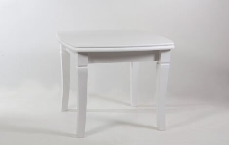 Стол Монте Карло белый, увеличивающийся до 1.9м
