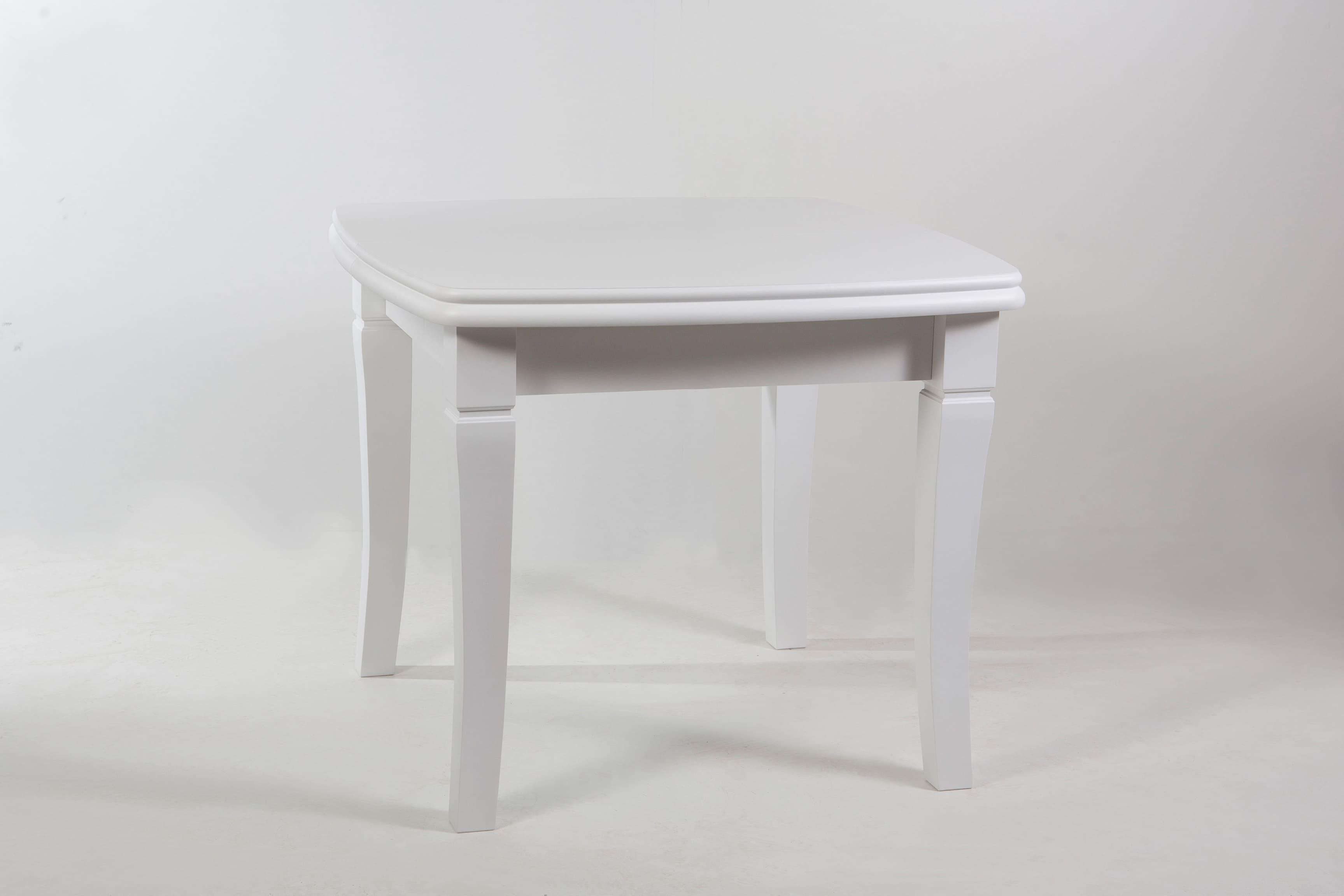 """Стол обеденный раскладной """"Монте-Карло"""" белый, увеличивающийся до 2.9 м"""