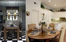 Ротанговая мебель на кухне