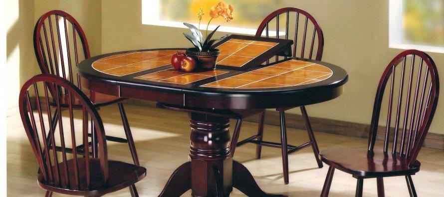 Обідні столи з керамічною поверхнею: особливості експлуатації