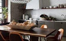 3 креативные идеи обеденных столов для вашей кухни
