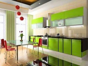 Пластик в інтер'єрі кухні: ультрамодно і просто!