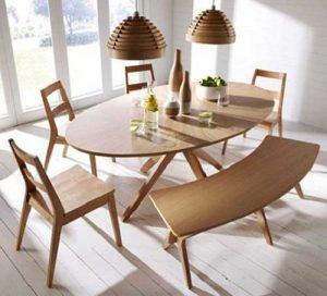 Овальный стол для кухни: все ЗА и ПРОТИВ