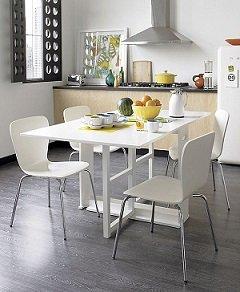 Сочетание кухонного стола и стульев: правила выбора