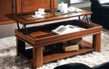 Стол-трансформер для гостиной: дизайн и тип конструкции
